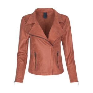 Luxzuz Majla suede jacket coated