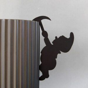 Ryborg Hængenisse med økse sort