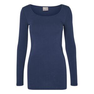 Vero moda Maxi My T-shirt Mørkeblå
