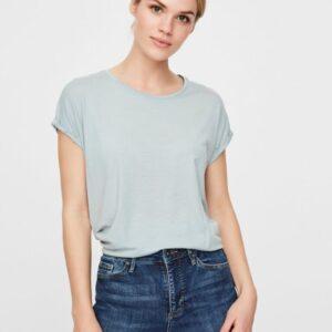 Vero Moda Ava t-shirt støvet lysegrøn