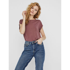 Vero moda Ava t-shirt Rosa brun