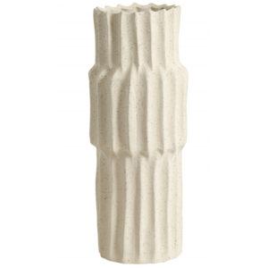 Nordal vase 36 cm creme