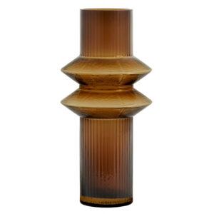 Nordal Rilla vase amber 30 cm