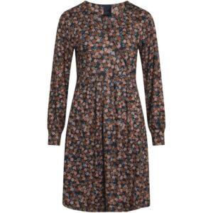 Luxzuz Teodora kjole brændte farver