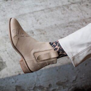 """Copenhagen shoes """"New life"""" støvle Beige suede"""