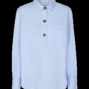 Freequent Flynn skjorte lyseblå
