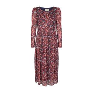 Freequent Sannie kjole rød blomsterprint