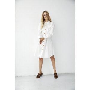 Freequent Edda kjole offwhite