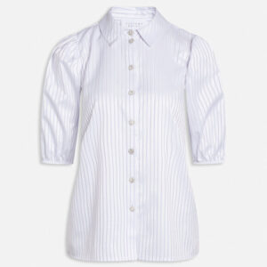 Sisters point Milar skjorte hvid/lilla