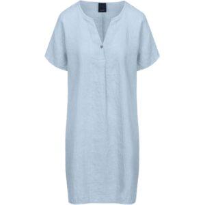 Luxzuz Helinia kjole lyseblå hør
