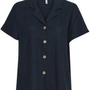 Pulz Bianca shirt mørkeblå