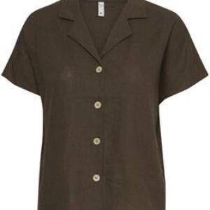 Pulz Bianca shirt mørkegrøn