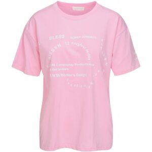 Luxzuz Bibiane t-shirt pink