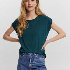 Vero moda ava t-shirt sea moss