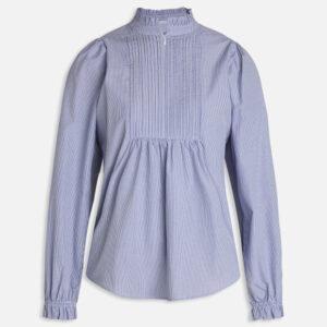 Sisters Point Meda skjorte blå stribet