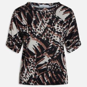 Sisters point Low t-shirt blk/vanilla/car