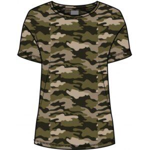 Luxzuz Carin t-shirt Army