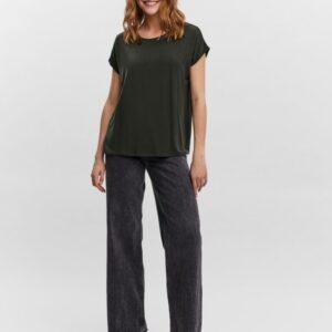 Vero moda Ava t-shirt Rosin (Mørkegrøn)