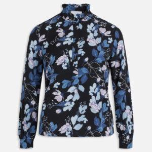 Sisters Point Visla skjorte blå/blomster