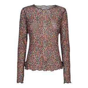 Liberte mesh bluse multi color leo