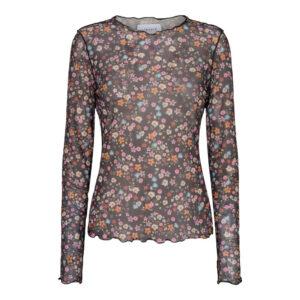 Liberte mesh bluse awflower
